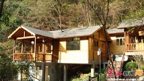 温泉度假小木屋
