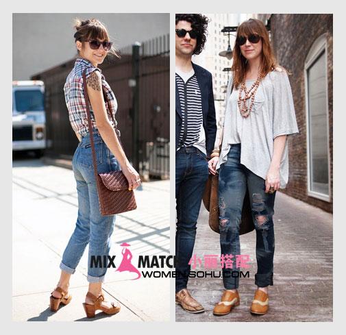 女人穿好牛仔裤 凹凸臀线大放光彩