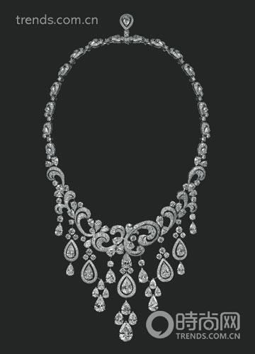 亚钻石高级珠宝项链-宝石的灵魂 设计大师设计手稿图片