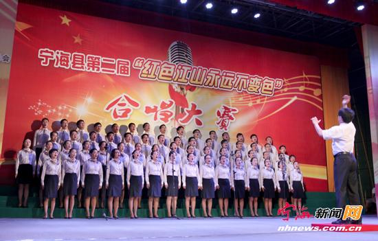 红歌合唱祝福祖国